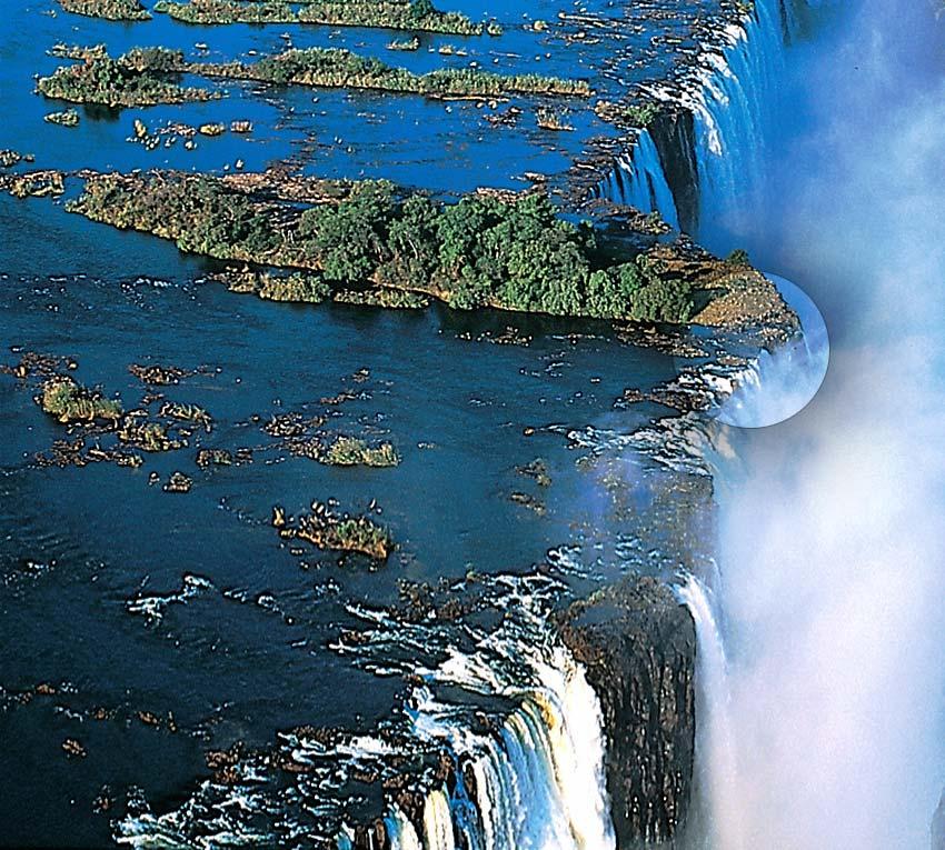Devil 39 S Pool At Victoria Falls